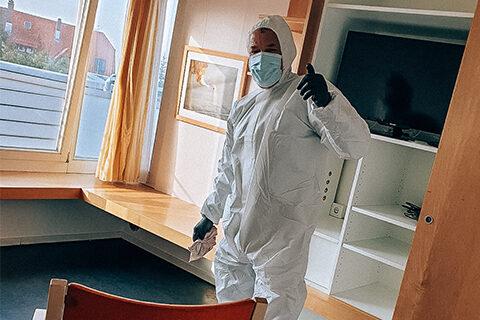 Reinigung von Alten-/Pflegeheime & Hospizen